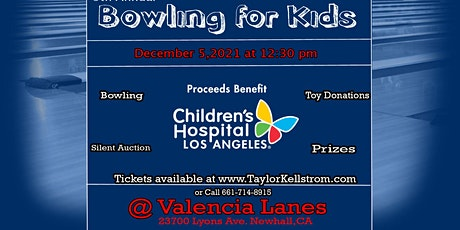 """9th Annual """"Bowling for Kids"""" tickets"""