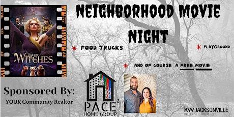 Neighborhood Movie Night tickets