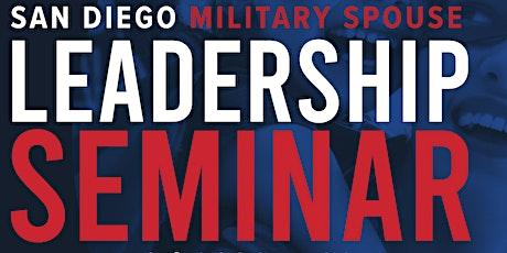 San Diego Military Spouse Leadership Seminar tickets