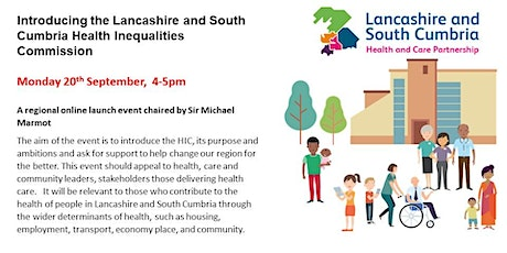 The Lancashire and South Cumbria Health Inequalities Commission (HIC) tickets