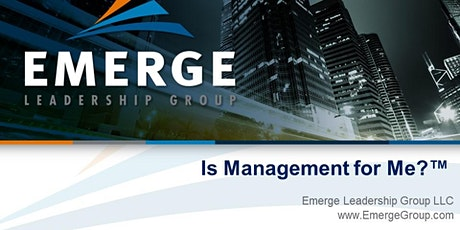 Is Management for Me?™ Virtual Workshop- October 26th - 1:00pm-3:30pm ET tickets