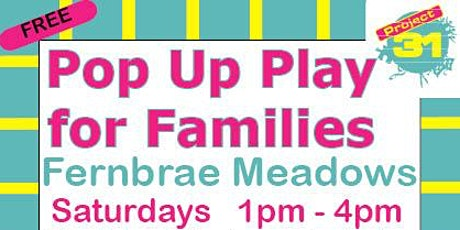 Pop Up Play - Families tickets