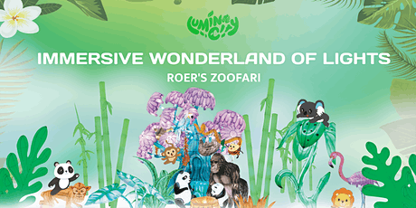 LuminoCity Festival Holiday Lights at Roer's Zoofari tickets