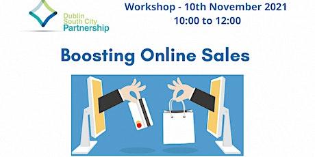 Boosting Online Sales tickets