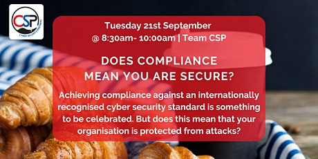 Does compliance mean you are secure? tickets