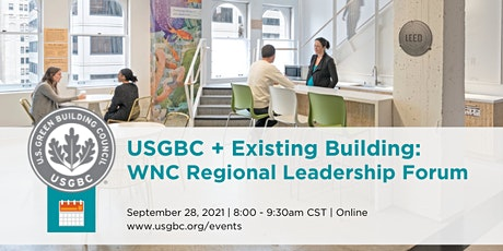 USGBC + Existing Buildings Leadership Forum tickets