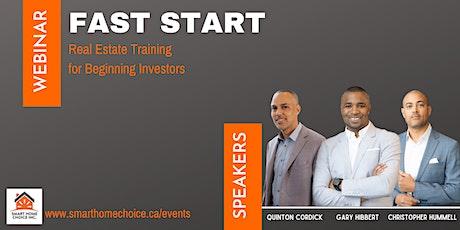 Fast Start Class For Beginning Real Estate Investors boletos