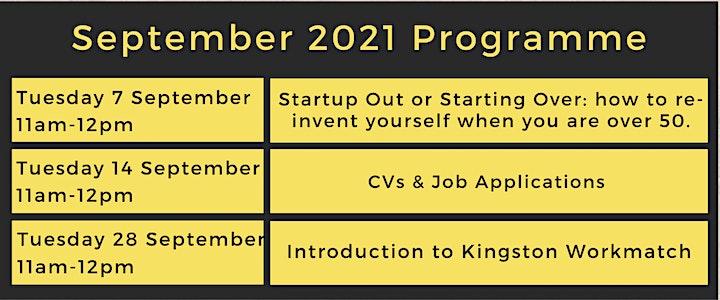 CVs and Job Applications - Virtual Job Club image