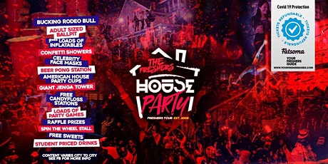 The Freshers House Party | Surrey Freshers 2021 // Guildford Freshers 2021 tickets
