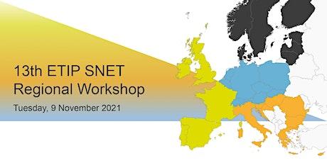 13th ETIP SNET Regional Workshop tickets