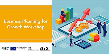 Business Planning for Growth Workshop bilhetes
