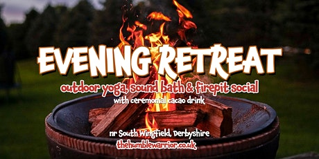 Evening Retreat: Outdoor yoga, sound bath and firepit session tickets
