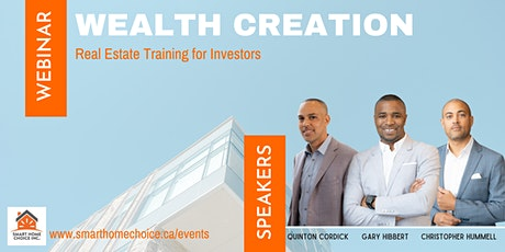 Wealth Building With Real Estate tickets