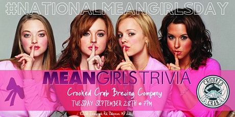 National Mean Girls Day Trivia Celebration at Crooked Crab tickets