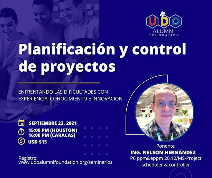 Planificación y Control de Proyectos (por Nelson Hernández) image