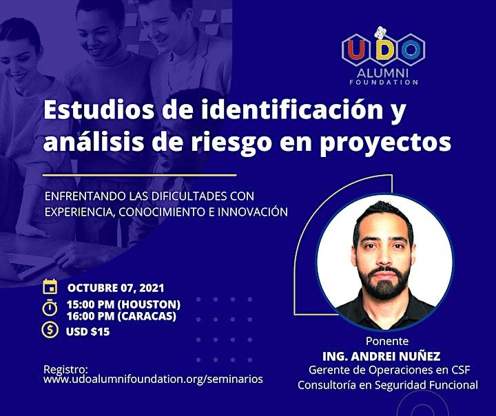 Estudios de Identificación y Análisis de Riesgos (por Andrei Nuñez) image