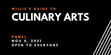 PANEL | Millie's Guide to Culinary Arts tickets