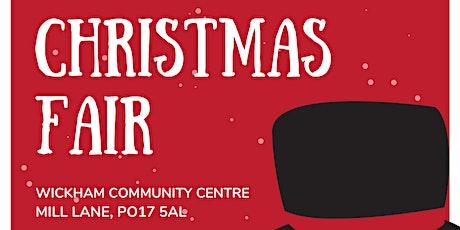 Christmas Fair 2021 tickets