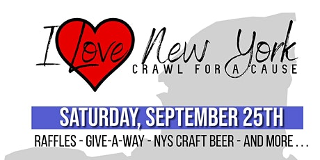 I Love New York: Crawl for A Cause tickets