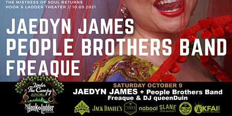Jaedyn James with The People Brothers Band, Freaque, and DJ queenDuin tickets