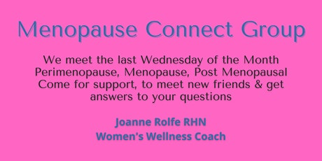Menopause Connect Group tickets