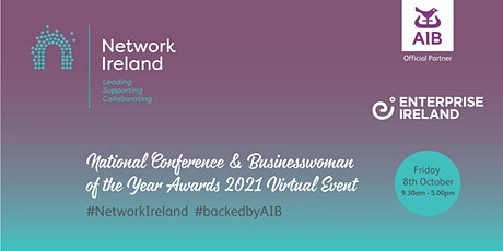Network Ireland National Conference & Businesswoman of the Year Awards 2021 tickets