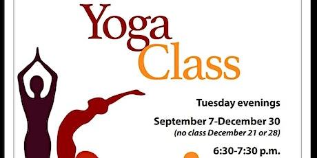 Free Yoga at Cyril Allgeier tickets