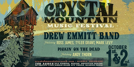 Crystal Mountain Music Festival Oct 1&2 tickets