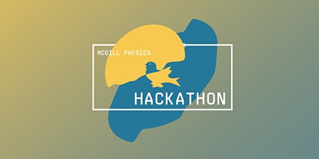 McGill Physics Hackathon 2021 ingressos