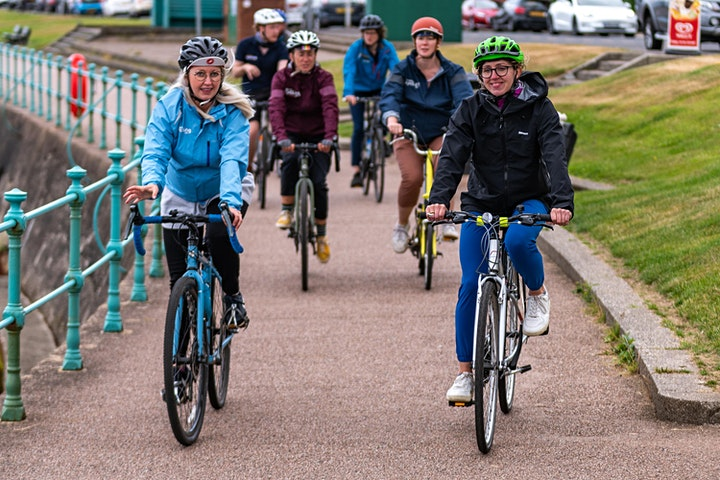 Lunchtime Led Ride!  Social, fun, inclusive, low level  cycle in Dunoon. image