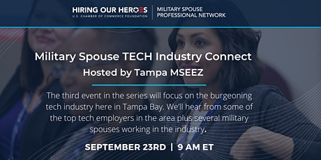 Tampa Military Spouse TECH Industry Connect tickets