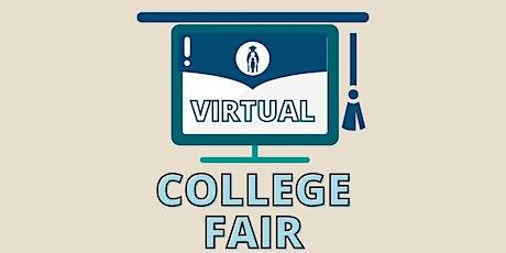 #CAP Virtual College Fair 2021 tickets