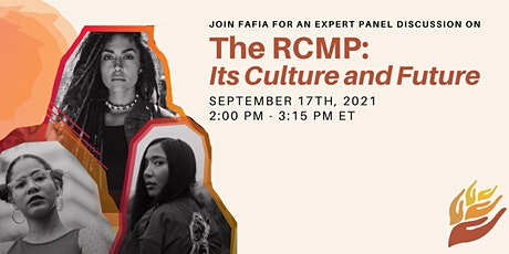 The  RCMP: Its Culture and Future tickets