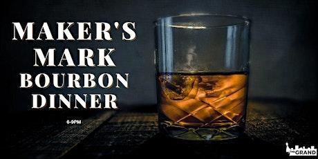 Maker's Mark Bourbon Dinner tickets