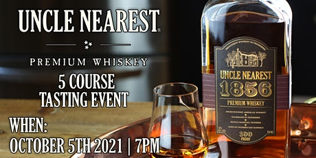 Uncle Nearest 5 Course Tasting Event tickets