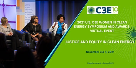 2021 U.S. C3E Women in Clean Energy Symposium & Awards tickets