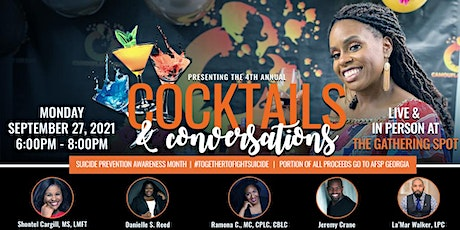4th Annual Cocktails & Conversations Signature Event tickets