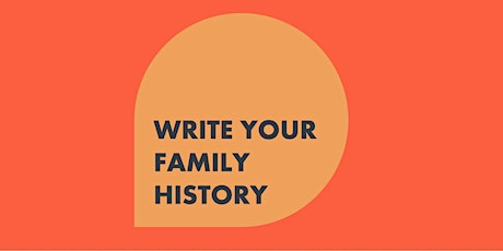 How To Write Your Family History – a Three Part Masterclass | Peter Parker tickets