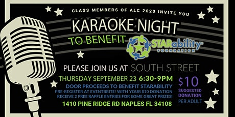 Karaoke for a Cause - STARability tickets