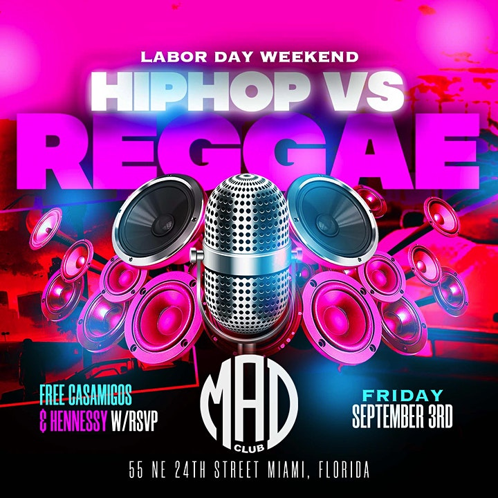 Free Drinks At Hip-Hop Vs Caribbean image