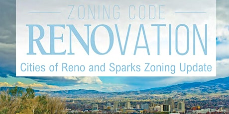 Reno and Sparks Zoning Code Update tickets