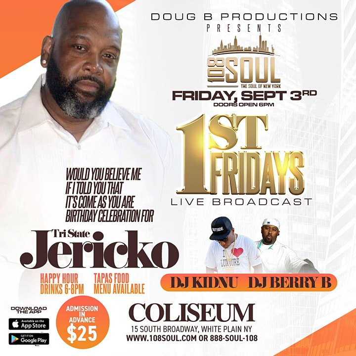 108 Soul and Doug B presents 1st Fridays live from the Coliseum image