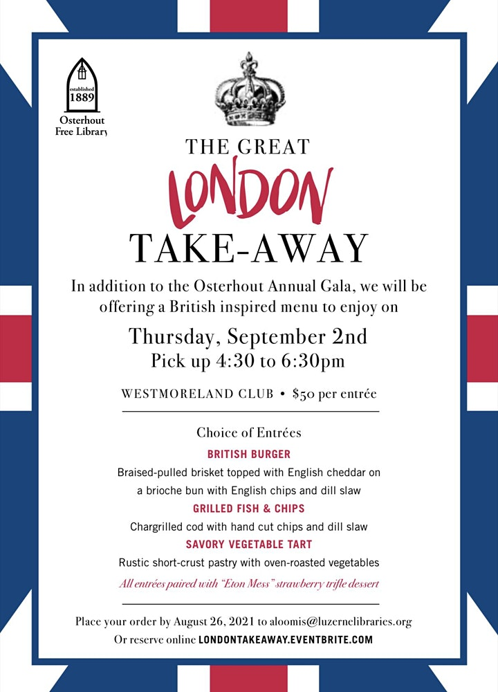 The Great London Take-Away Dinner image