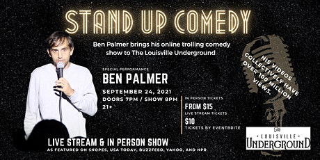 Stand Up Comedy with Ben Palmer tickets