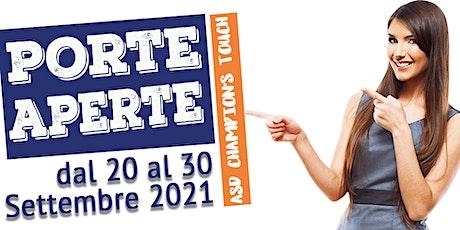 Porte Aperte - Corso di Introduzione allo Sport per Bambini 3-5 anni biglietti
