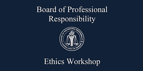2021 Ethics Workshop tickets