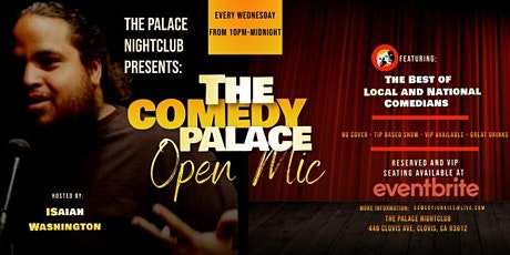 The  Comedy Palace Comedy Show + Open MIc tickets