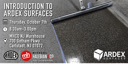 Introduction to ARDEX Surfaces tickets