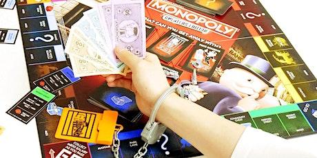 Monopoly - cheaters edition - evento apto para jóvenes de 10 años+ bilhetes