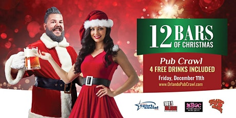 The 12 Bars of Christmas Pub Crawl(Orlando) tickets